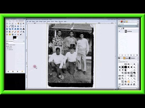 How To Fix A Photo With Gimp