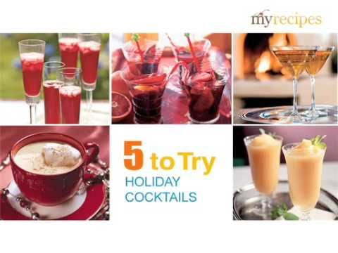 5 Amazing Holiday Cocktail Recipes
