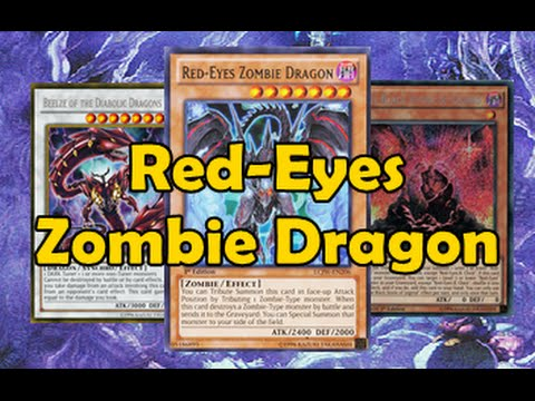 Red Eyes Zombie Dragon FaDe
