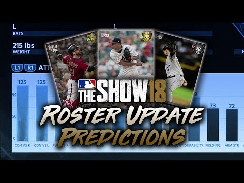 May 11th Roster Update Predictions! MLB The Show 18 Diamond Dynasty