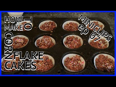 How to make Corn Flake Cakes : MINICLIPS Ep 07