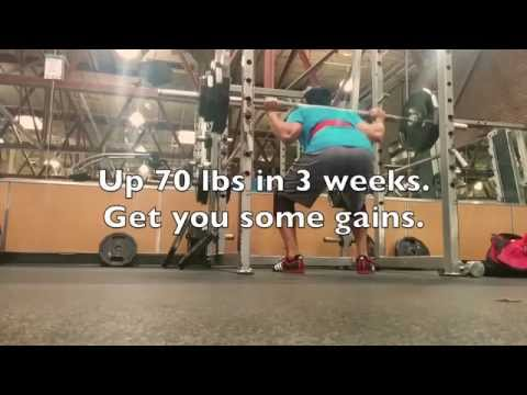 How to increase your squat - Stronglifts Squat progression - Up 70 pounds in 7 workouts