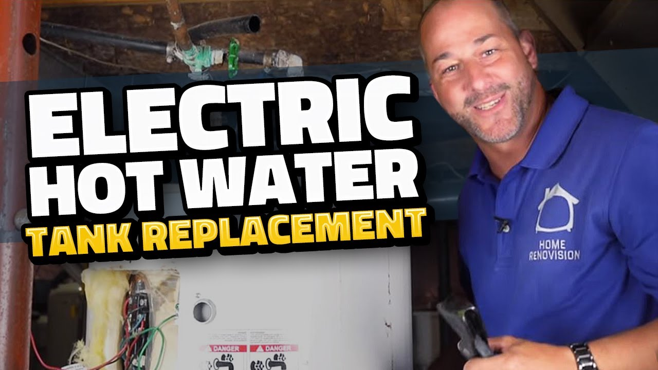 How to Replace Your Electrical Hot Water Tank | DIY