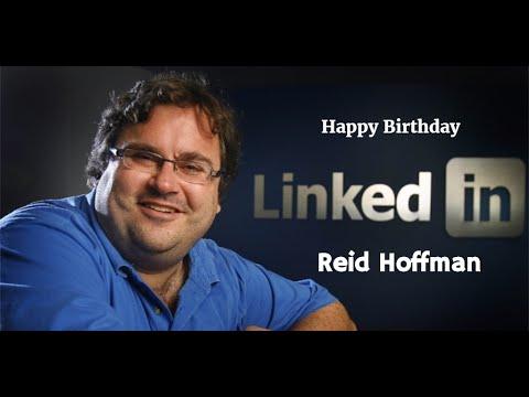 Reid Hoffman Birthday Video Greeting , Founder of Linkedin | Inviter.com