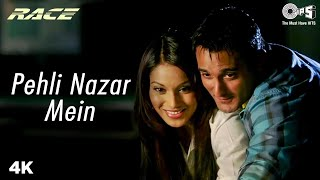 Pehli Nazar Mein Full Video - Race I Akshaye Khanna, Bipasha Basu   Atif Aslam