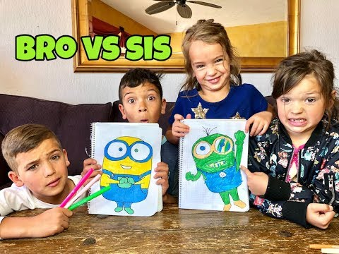 FAMILY 3 MARKER CHALLENGE | MINIONS