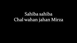 (LYRiCS)SAHIBA O SAHIBA (Phillauri) - Diljit Dosanjh, Anushka Sharma