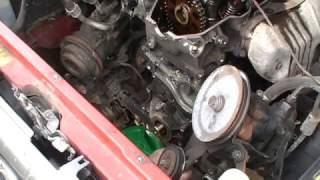 22RE broken timing chain guide