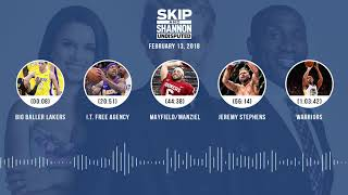 UNDISPUTED Audio Podcast (2.13.18) with Skip Bayless, Shannon Sharpe, Joy Taylor   UNDISPUTED