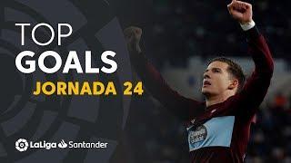 Todos los goles de la Jornada 24 de LaLiga Santander 2019/2020