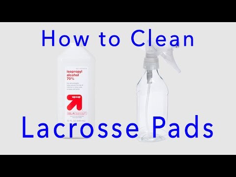 How to Clean Lacrosse Pads