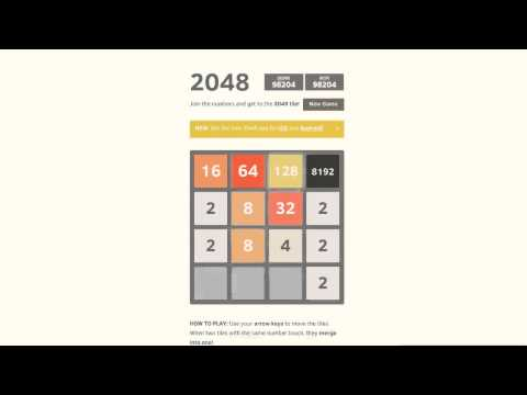 Henrik celebrates the 8192 tile and 100k+ points in the 2048 game with being Happy on 22 June 2014