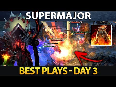 CHINA SUPERMAJOR Dota 2 Best Plays - Day 3