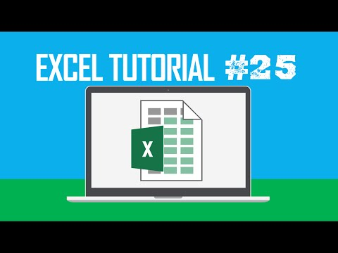Excel Tutorial #25:  Moving to Next Control in a Dialogue Box (Tab)