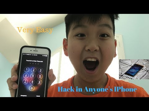 How To Unlock Someone's IPhone