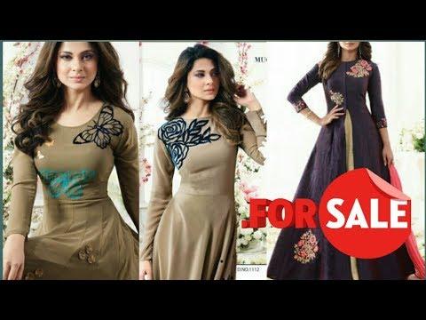 surat Latest design of dress 2017 | Wholesale dress material surat | salwar suit designs