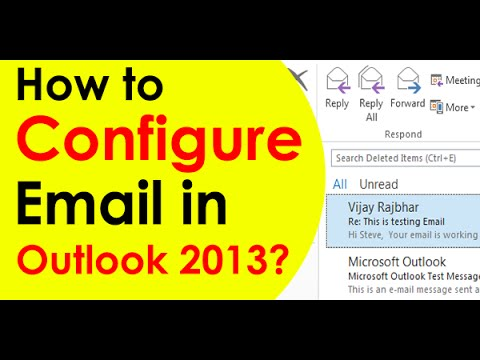 How to Setting Up Your Email Account - Microsoft Outlook 2013 (Simple Steps)