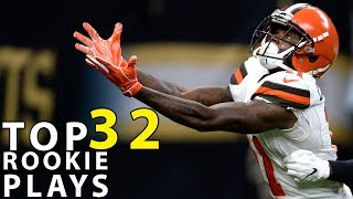 Top 32 Rookie Plays of the 2018 Season