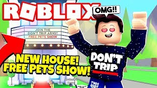*SECRET* How to Get a FREE PETS SHOW in Adopt Me! NEW Adopt Me Hollywood House Update (Roblox)