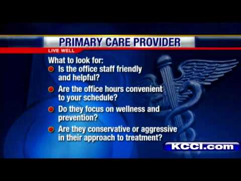 LiveWell: How To Pick Primary Care Doctor