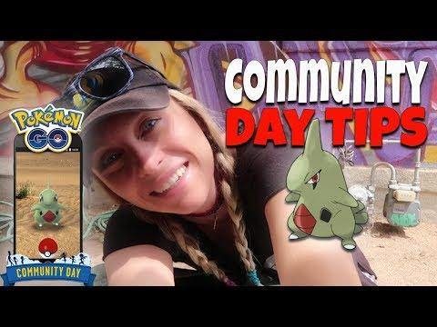 Top Tips for Larvitar Community Day! Pokemon GO