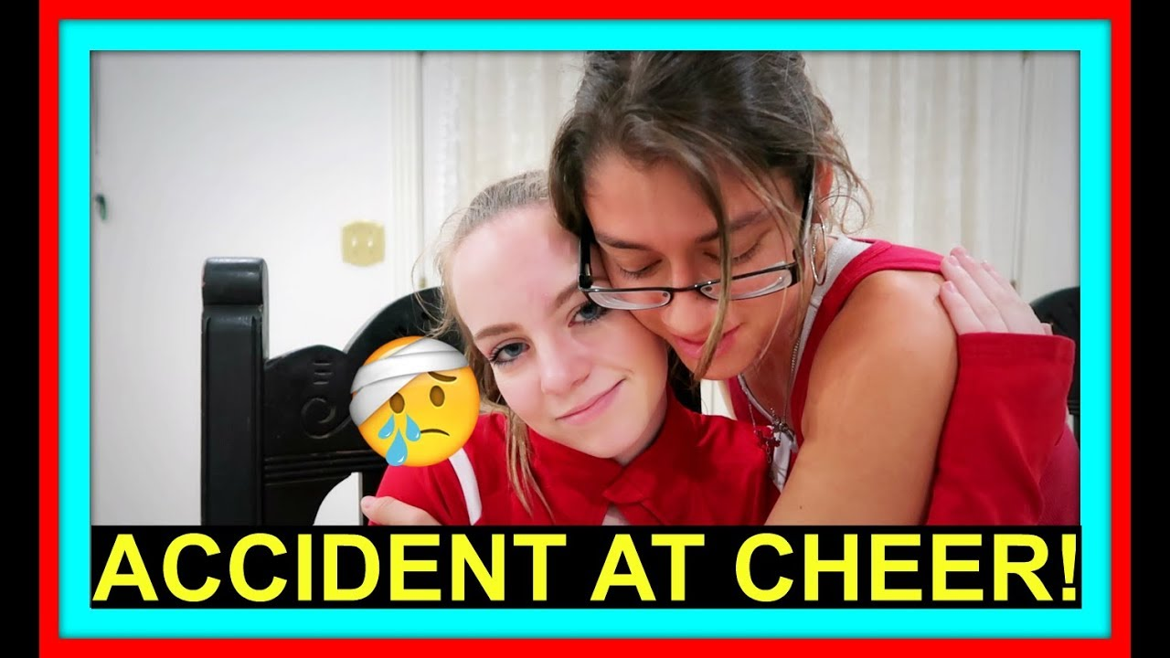 ACCIDENT AT CHEER PRACTICE! | DON'T CRY HALIE