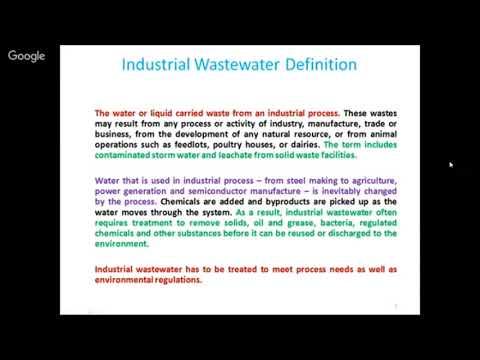 industrial waste water tretment by s c jain