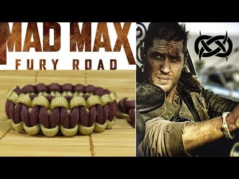 How to Make an (Mad Max Style) Adjustable Paracord Bracelet