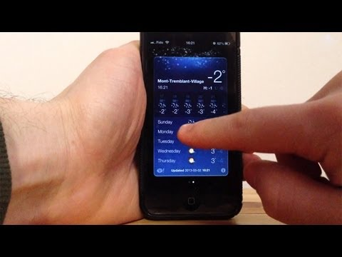 Fixing the Weather App After a Jailbreak (iOS 6)