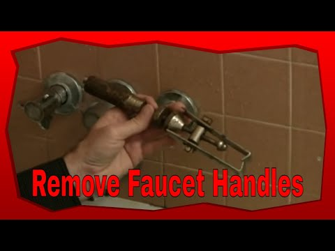 How To Remove Stubborn Bathtub Faucet Handles