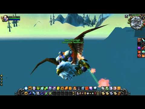 wow backwards flying