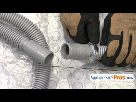Washer Drain Hose (part #DC97-16979A) - How To Replace