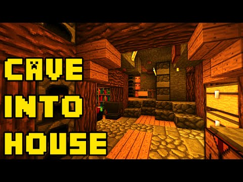 Minecraft: Any Cave Into a Big House/Base Tutorial Xbox/PE/PC/PS3/PS4