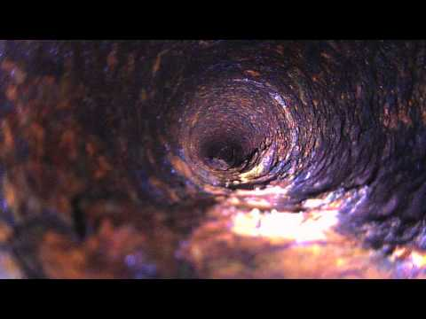 What does an Old Sewer Pipe look like from inside? HK HD WingCam Goes in + Snaking