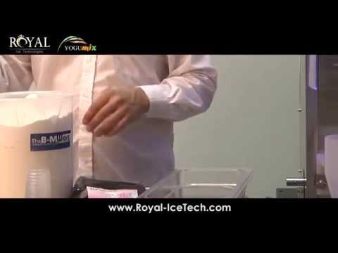 Yogumix Frozen yogurt machine – how to make Yogurt doses