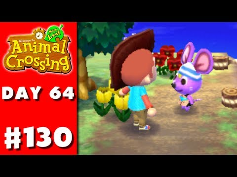 Animal Crossing: New Leaf - Part 130 - Rod's Glove (Nintendo 3DS Gameplay Walkthrough Day 64)