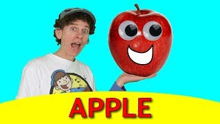 APPLE  Song | Say, Spell, And  Sing | Learn English Kids