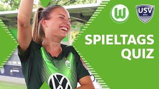 Pajor vs. Wedemeyer & Jakabfi vs. Burmeister   Spieltagsquiz vor VfL Wolfsburg - USV Jena