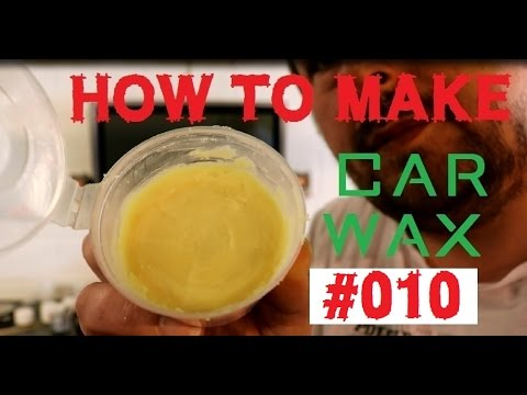 homebrew car wax - how to make a car wax Part10