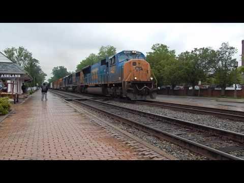Amtrak/CSX Thru Ashland, VA