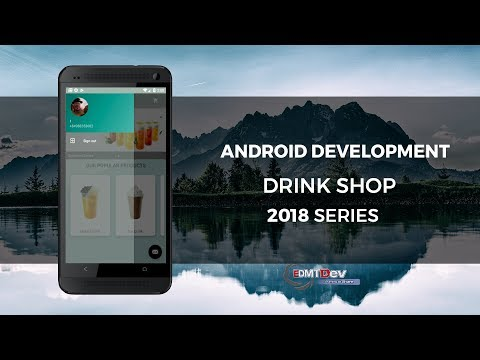 Android Development Tutorial - Drink Shop App part 14 Sign Out and Exit Application
