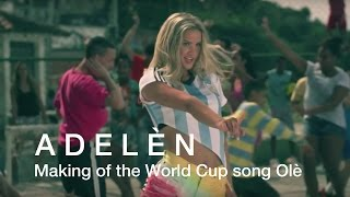 Making of the World Cup song Olé by Adelén - Norsk Hydro