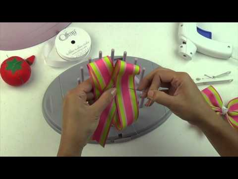 Bow Genius - Tail Up Tail Down Hair Bow - DIY Bow Maker