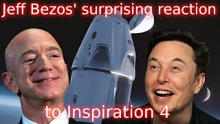 Why SpaceX's first private space mission is so important \u0026 Jeff Bezos' reaction.