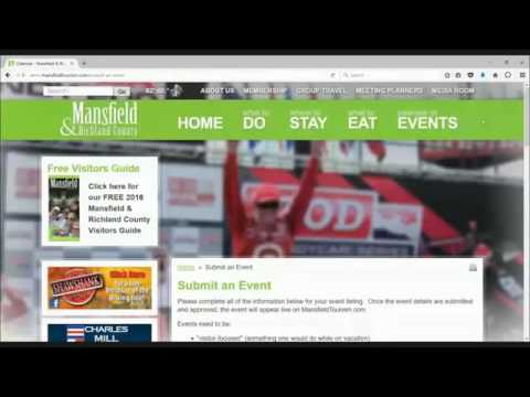 CVB Share Your Event Video Tutorial