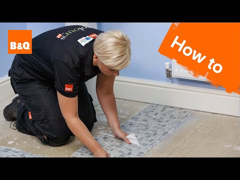 How to lay vinyl tiles & carpet tiles part 2: laying the tiles
