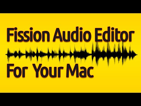 Rich On Tech: Fission Audio Editor For The Mac
