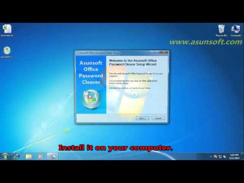 Remove Office Password – Unprotect Office Word,Excel Document