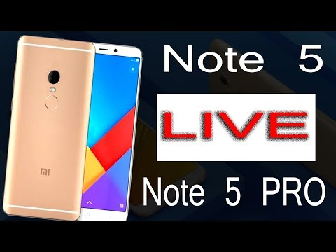REDMI NOTE 5 AND NOTE 5 PRO LIVE LAUNCH EVENT || 2018 Mi Product launch
