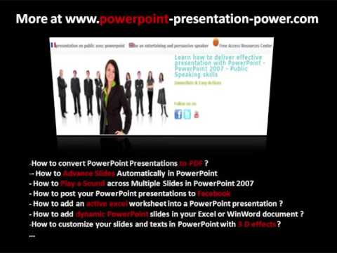 How to convert PowerPoint Presentations to PDF just by saving from PowerPoint interface ?